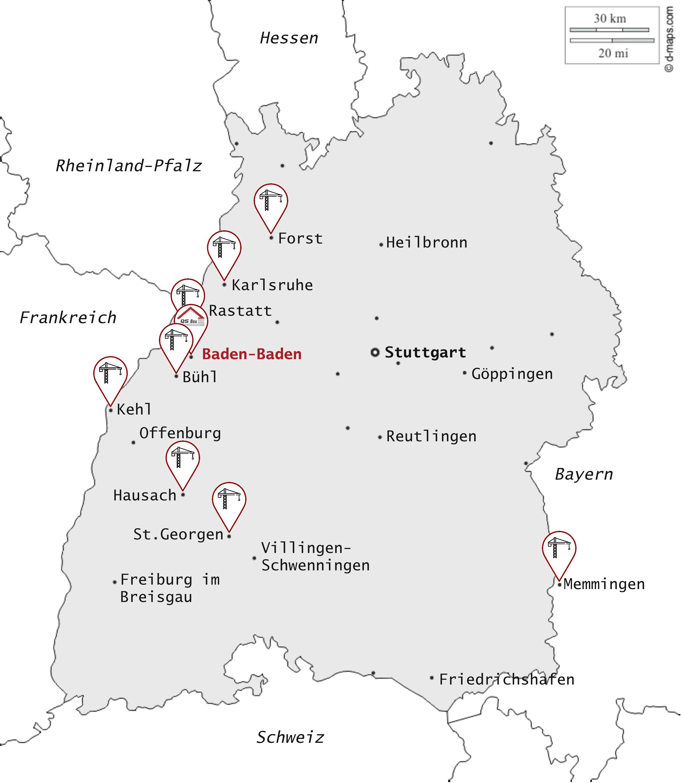 Karte Aktivität