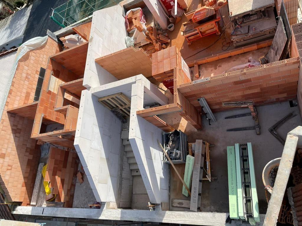 Baustelle Dachgeschoss Karlsruhe